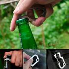 Multi-Tools Pocket Carabiner Bottle Opener Hex Driver Key Chain Survival Gear BJ
