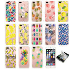 Summer Fruits Gadget Hard Bumper Matte Case Cover For iPhone 6 6s 7 7 Plus