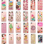 Doughnut Screen Protector Film Matte Hard Case Cover For iPhone 6 6s 7 7 Plus