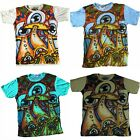 Mens Mirror T Shirt Blue Eye Boho Colourful Dope Trippy Hippy Rare Cotton M