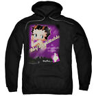 Betty Boop UNFORGETTABLE Perfume Ad Vintage Style Licensed Sweatshirt Hoodie $68.05 USD on eBay