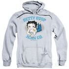 Betty Boop JEAN COMPANY Ad Licensed Sweatshirt Hoodie $43.9 USD on eBay