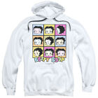 Betty Boop SHE'S GOT THE LOOK Many Faces Pop Art Licensed Sweatshirt Hoodie $43.9 USD on eBay
