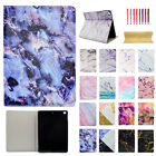 Smart Marble Grain Leather Stand Case Cover For iPad 5th 9.7