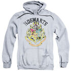 Harry Potter HOGWARTS CREST Licensed Adult Sweatshirt Hoodie
