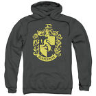 Harry Potter HUFFLEPUFF CREST Licensed Adult Sweatshirt Hoodie