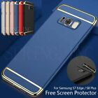 Ultra thin Shockproof Full Body PC Case Screen Protector For Samsung S7 Edge S8