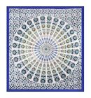 Twin Indian Mandala Bedspread Wall Hanging Ethnic Throw Tapestry