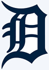 Detroit Tigers Old English D Logo Decal Window Sticker - You pick Color & Size