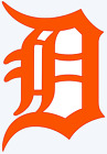 Detroit Tigers Old English D Logo Decal Window Sticker - You pick Color on Ebay