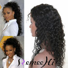 """Brazilian Deep Curly Human Hair Front/Full Lace Wig For Beautiful Woman 12-22"""""""