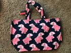 Simply Southern Elephant and Hibiscus Large Tote