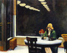 Automat Painting by Edward Hopper Art Reproduction