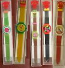 SWATCH COKE COCA COLA RARE VINTAGE Quartz Watch FUNKY!! 80'S 90'S SEVERAL 2 PICK $35.0  on eBay