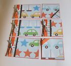 """Set 2- 6 piece Mat Set""""- 4x6 and 4x4 ...choose one...great for pages/cards"""