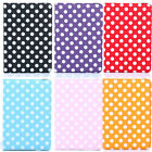 Cute Wave Point  Leather Smart  Flip Cover Case For Ipad2 3 4 Mini Pro9.7' 12.9'