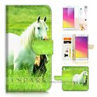 OPPO R9 Wallet Case Cover AJ20202 White Horse
