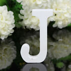 Wooden Letters White Wood Words Name Alphabet Wedding Birthday Party Home Decor