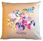 """Personalised Cushions 14"""" or 18"""" - My Little Pony - Named - Style 2"""