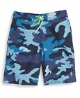 RALPH LAUREN boy BOARD SHORT Swim Swimming Trunk 2Y 4/5Y blue camo BNWT