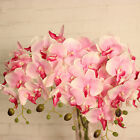 Artificial Butterfly Orchid Silk Floral Bouquet Phalaenopsis Wedding Home Decor