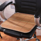 Cool Natural Bamboo Mat Double Sided Cushion Car Home Office Chair Seat Cover