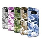 STUFF4 Gloss Phone Case for Samsung Galaxy S8/G950/Camouflage Army Navy