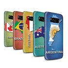 STUFF4 Gloss Phone Case for Samsung Galaxy S8/G950 /Flag Nations