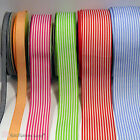 Pencil / Candy Stripe Ribbon 6, 15, 25,40 mm Wide Various Colours Sewing Craft