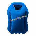 Inflatable Air Cushion Travel Pillow Airplane Nap Pillow Neck Chin Head Support