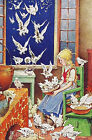 Quilt Block Cinderella & Doves Fairy Tale Multi Sizes FrEE ShiPPinG WoRld WiDE