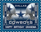 Dallas Cowboys (Nr2) - Edible Cake Topper or Cupcake Topper on eBay