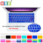 Taiwanese Silicone Keyboard Cover Skin For New Macbook Pro 13 A1708 and 12 A1534