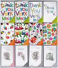 Thank You / Open Notelet Cards with Envelopes B - 8 Pack - by Simon Elvin