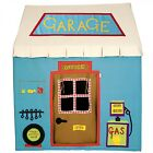 Fabric Toy Garage Children Playhouse / Play Tent / Wendy House by Win Green