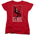 Elvis Presley ONE JAILHOUSE Licensed Women's T-Shirt All Sizes