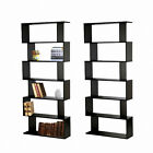 Panana S Shape Storage Display Bookcase Bookshelf Shelves Office Home Furniture