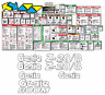 Genie Z20/8 Boomlift Decal Kit (Safety Only) SN 135 to Current