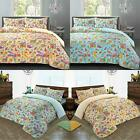 Gemma Deluxe Hotel Quality Paisley 100% Egyptian Cotton Sateen Duvet Cover Set