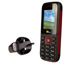 Dual Sim TT120 Mobile - Camera - Bluetooth- Cheapest 2 Sim Phone with Mains Plug