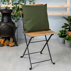 English Country Garden Outdoor Accessories Furniture Seat Cushion Bench Pad Ties