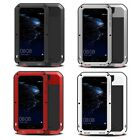 For HUAWEI P10 Shockproof Waterproof Gorilla Tempered Glass Metal Rugged Case