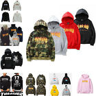 Mens Thrasher Camo Hoodie Hip-hop Skateboard Pullover Sweater Women Sweatshirts
