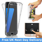 360 Case for Samsung Galaxy S7 Edge S7 S6 Edge S8 Ultra Thin Full Protection UK