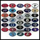 NFL LICENSED FOOTBALL OVAL TEAM LOGO INDOOR STICKER LAPTOP CELL PHONE YOU PICK $1.0 USD on eBay