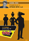 USCF Sales POWER PLAY - Attack with 1.e4 - Daniel King - VOLUME 17 Chess Softwar