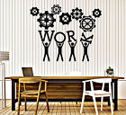 Wall Stickers Vinyl Decal Team Business Work Teamwork Office Interior  z4701
