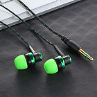 Stereo Sound In Ear Kopfhörer 3.5mm Headset Ohrhörer Für For iPhone Samsung