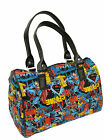 "DOCTOR BAG ""SUPERMAN, MARVELS THOR, THE GREAT ADVENTURES""  PATTERN ,COTTON,  NEW"