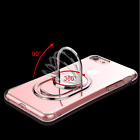 4 in 1 Transparent Phone Case with Finger Ring Holder Back  for  iPhone 6/7